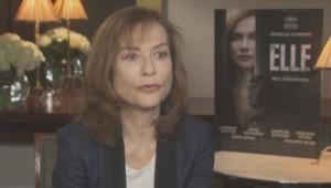 """Isabelle Huppert pour """"Elle"""" à Cannes"""