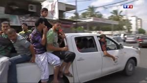 Le 20 heures du 20 juillet 2014 : Frappes isra�ennes : les habitants de Chanjaiya fuient leur ville - 901.0220000000004