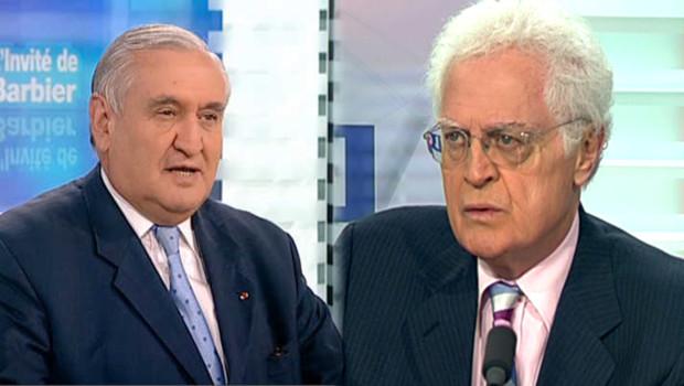 Lionel Jospin et Jean-Pierre Raffarin