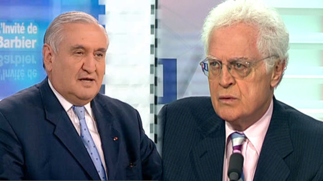Lionel Jospin et Jean-Pierre Raffarin 