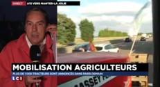"""Manifestation des agriculteurs à Paris : un voyage """"la peur au ventre"""""""
