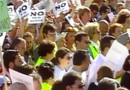 TF1/LCI : Manifestation contre l'ETA à Madrid