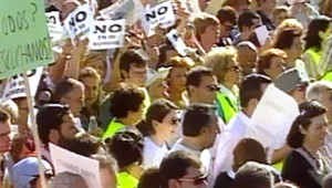 TF1/LCI : Manifestation contre l'ETA à Madrid