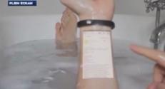 """""""Cicret Bracelet"""" : le prototype"""