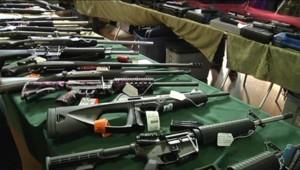 Des armes (image d'illustration)Armes en vente libre aux Etats-Unis
