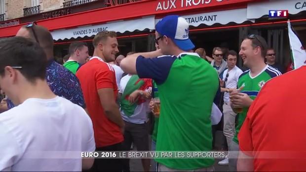 Euro 2016 : l'avis des supporters gallois et irlandais sur le Brexit