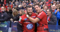 Le 20 heures du 18 mai 2013 : Rugby : Toulon, champion d&#039;Europe ! Les supporters ivres de bonheur - 180.36042863464357