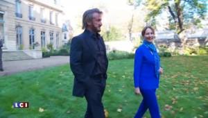 Le tête-à-tête écolo de Ségolène Royal et Sean Penn
