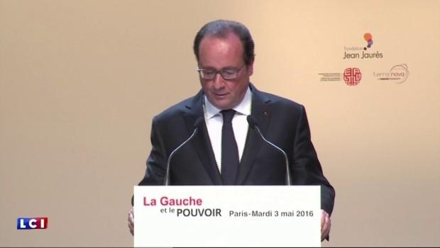 """Loi Travail : """"Un texte de progrès"""" pour François Hollande"""