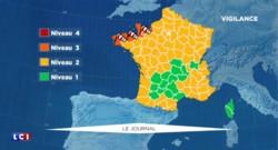 Météo : sept départements placés en vigilance orange vent et submersion