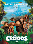 Affiche du film Les Croods