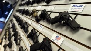 Des armes aux États-Unis.
