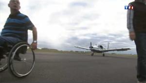 Didier, pilote d'avion émérite et handicapé