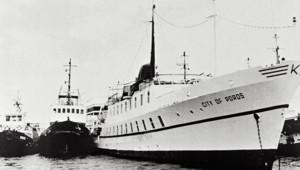 Le bateau de croisière City of Poros avait été attaqué le 11 juillet 1988