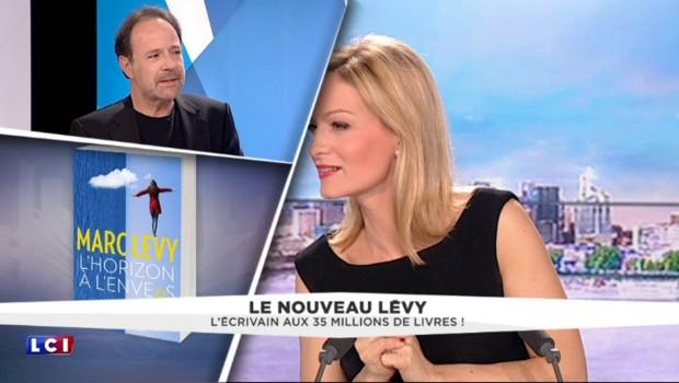 """Marc Levy parle de son nouveau roman, """"L'Horizon à l'envers"""", mi-roman d'amour mi-thriller"""