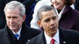 Pour la première fois, Bush tacle Obama