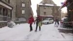 Dans le Massif central, la neige arrive et tout le monde s'en réjouit