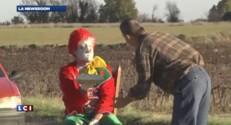Halloween : quand Rémi Gaillard se fait clown entarteur