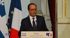 """Hollande confirme que Fessenheim fermera """"à l'horizon de la fin du quinquennat"""""""