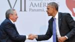 Le président cubain Raul Castro et Barack Obama lors du Sommet des Amériques 2015