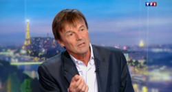 Nicolas Hulot sur TF1 le 9 octobre 2015