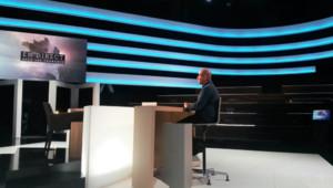 Thierry Demaizière, répétitions sur le plateau de En direct avec les Français, 6 novembre 2014