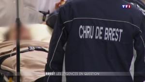 Colère aux urgences de l'hôpital de Brest