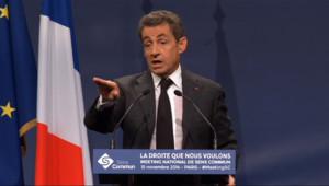 """Le 20 heures du 15 novembre 2014 : Mariage pour tous : Sarkozy �que pour la premi� fois une """"abrogation"""" de la loi Taubira - 1011.711"""