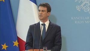 Manuel Valls, le 12 mars en Pologne.