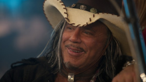 Mickey Rourke dans le film Expendables de Sylvester Stallone
