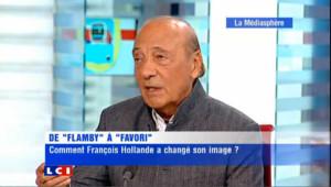 """Séguéla """"Mitterrand n'aurait pas mis un billet sur Hollande [...] N'est pas Mitterrand qui veut"""""""