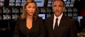 Attentats de Paris : l'hommage de Nikos Aliagas et Sandrine Quétier