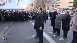Attentats : Hollande inaugure une plaque commémorative en l'honneur de la policière tuée