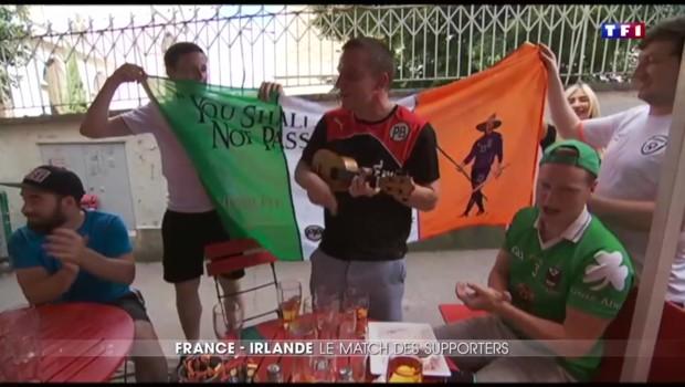France-Irlande : du côté des supporters, il n'y a pas match