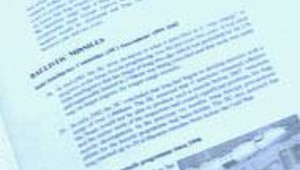 irak grande-bretagne dossier blair page missiles