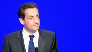 Nicolas Sarkozy à la Mutualité le 6 mai 2012.