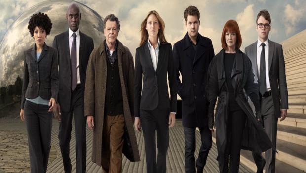 Fringe - Saison 4. Série créée par J.J. Abrams, Alex Kurtzman, Roberto Orci en 2008. Avec Anna Torv, John Noble, Joshua Jackson et Blair Brown.