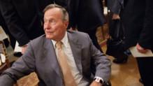 """George Bush """"Père"""", en mai 2012 à Washington."""