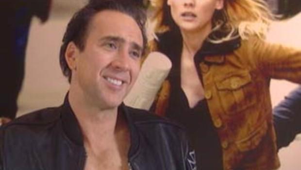 Nicolas Cage lors interview Benjamin Gates tf1.fr