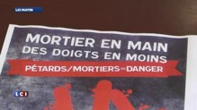 "Pétards du 14 juillet : ""Des risques de mutilations importantes"""