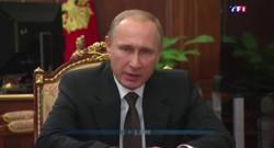 """Poutine sur Daech : """"Nous les trouverons et les punirons"""""""