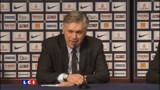 """PSG : """"Il y a une crise"""", reconnaît Ancelotti - Vidéo"""
