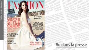 Couverture du magazine canadien Fashion avec Lana Del Rey.