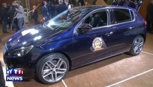 La voiture de l'année est... la Peugeot 308 !
