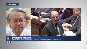 """Marini : """"Y a-t-il eu le 7 décembre une réunion dans le bureau de Moscovici ?"""""""