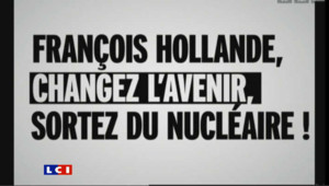 Nucléaire : Greenpeace s'en prend à Hollande