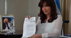 Argentine : allocution télévisée de Cristina Kirchner, 27/1/15