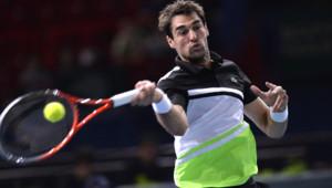 Jérémy Chardy a été éliminé du Masters de Paris-Bercy ce lundi par le Tchèque Lucas Rosol (6-3;6-4).