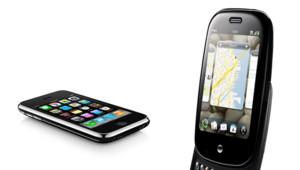 Le Palm Pre devant l'iPhone 3GS