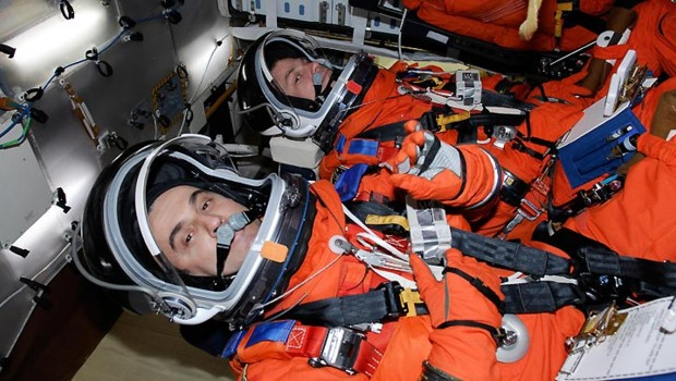 Léopold Eyharts astronaute